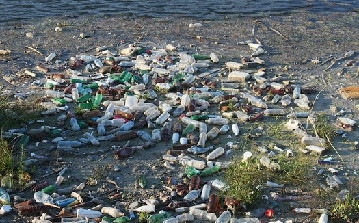 Every year an estimated 8 million metric tons of plastic waste enters ocean waters. (byrev/pixabay)