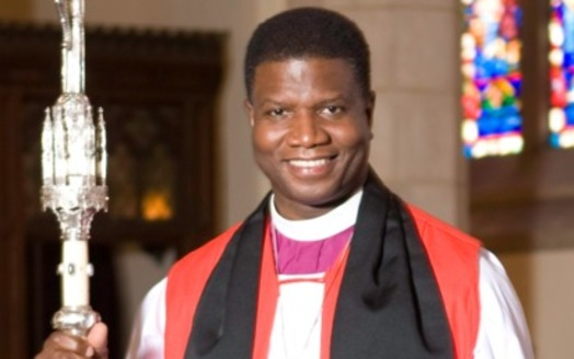 The Right Rev. Eugene Taylor Sutton, Episcopal bishop of Maryland, says the subject of reparations for slavery deserves