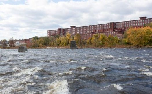 In 2018, an estimated 800 million gallons of combined sewage overflow was discharged into the Merrimack River. (Wikimedia Commons)