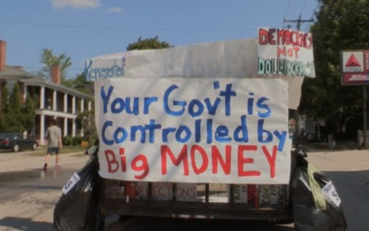 New Hampshire activists are focusing on getting big money out of politics. (Kevin Bowe)