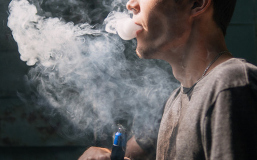 As of this month, at least 49 people in Tennessee have been hospitalized with serious lung injuries from using vaping products, according to the Tennessee Department of Health. (Adobe Stock)