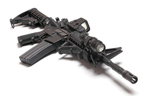 A new study on mass shootings shows that assault-style rifles are used about 25% of the time; while handguns are most often the weapon of choice. (Ultra1s/iStockphoto)