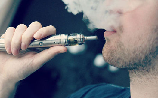 A recent study by the Food and Drug Administration found that a quarter of all high school students used e-cigarettes in 2019, up five percentage points from last year. (TBEC Review/Wikimedia Commons)