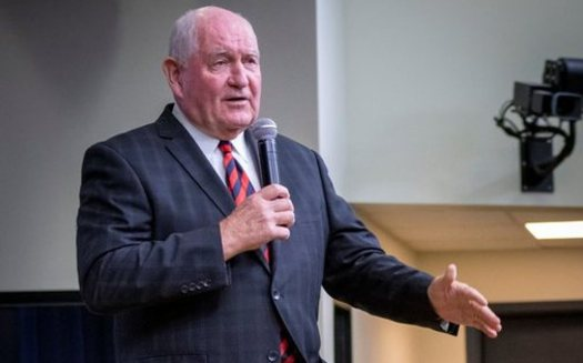 U.S. Agriculture Secretary Sonny Perdue says changes to SNAP work requirements will move participants toward self-sufficiency. (USDA/Flickr)