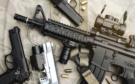 Three initiatives awaiting review in Oregon would put certain restrictions on the sale of semi-automatic firearms, including raising the purchase age to 21. (ARTFULLY-79/Adobe Stock)