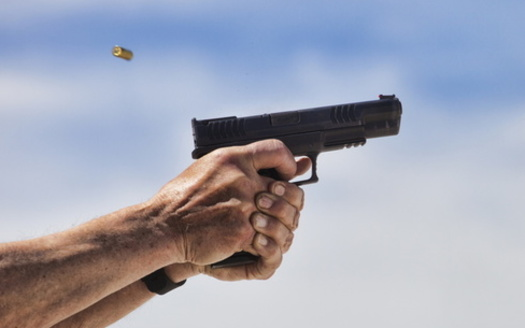 Virginia lawmakers are looking to close a loophole that allows people to buy guns privately or at gun shows with no background checks. (Adobe Stock)