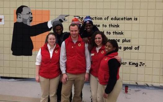 Hundreds of volunteers are expected at City Year Cleveland's Martin Luther King Jr. Day of Service event. (City Year Cleveland)