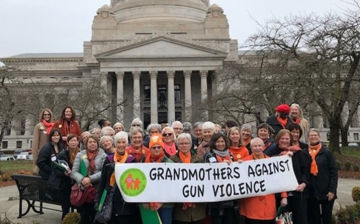 The group Grandmothers Against Gun Violence is in Olympia a week after three shootings in Seattle. (Grandmothers Against Gun Violence)