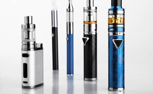 Research shows that vaping products can deliver as much nicotine as traditional cigarettes. (Adobe Stock)