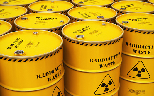A federal rule change could allow waste disposal at locations other than radioactive-storage facilities. (Scanrail/Adobe Stock)