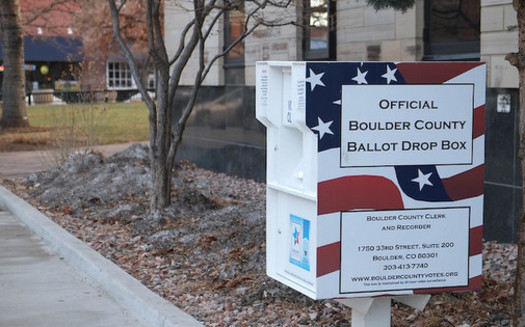 A recent survey found that 79% of Democratic voters and 65% of Republicans want the option of voting remotely during the COVID-19 health emergency. (Paul Sableman Flickr)