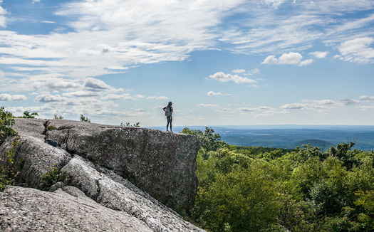Some 92% of New York voters support making parks, open space and natural areas more accessible. (Meng He/Adobe Stock)
