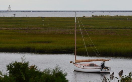 The Great Island marsh at the mouth of the Connecticut River is part of the proposed Connecticut National Estuarine Research Reserve. (Kevin O'Brien)
