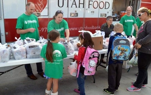 Utah's food banks are among the state's nonprofit organizations that are struggling to provide services due to the economic crisis caused by the COVID-19 pandemic. (Utah Food Bank)