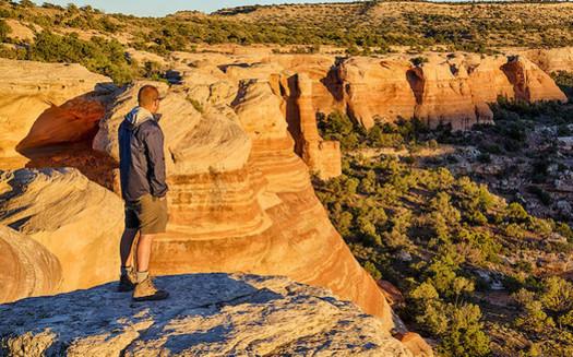 The Bureau of Land Management oversees 248 million acres of public lands. (Bob Wick/BLM)