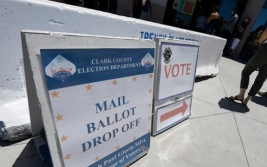 Under a Nevada law upheld by a federal judge Monday, all active state voters would receive a mail-in ballot for the Nov. 3 election because of to the nation's health emergency. (common dreams.org)