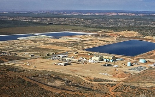 The White Mesa Uranium Mill is situated near the Ute Mountain Ute tribal reservation and Bears Ears National Monument. (Grand Canyon Trust)