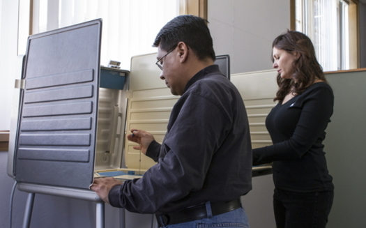 Quarantined West Virginians or those who have the coronavirus can call county clerks to find a designated polling place on Election Day to cast a ballot in person. (Adobe stock)