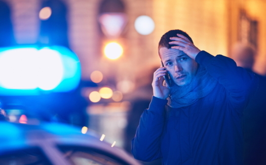 A U.S. House bill would support 40 programs nationwide that team social workers with police departments to respond to mental health-oriented emergency calls. (Adobe Stock)