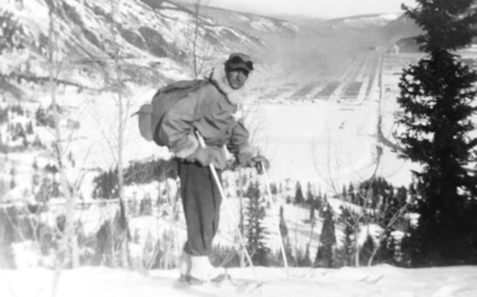If the CORE Act passes, Camp Hale will be designated a National Historic Landscape in honor of the 10th Mountain Division soldiers that trained there, including Sgt. Harry Poschman, pictured. (Poschman Collection)