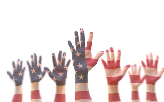 A survey of Americans reveals most are committed to a peaceful election. (AdobeStock)