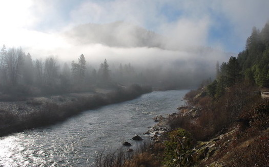The Klamath River was once the third-largest salmon producing river on the West Coast. (Matt Baun/U.S. Fish and Wildlife Service)