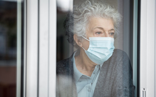 A global survey found 85% of respondents, all over age 50, felt lonely in 2020, up from 75% of respondents in 2019. (Rido/Adobe Stock)