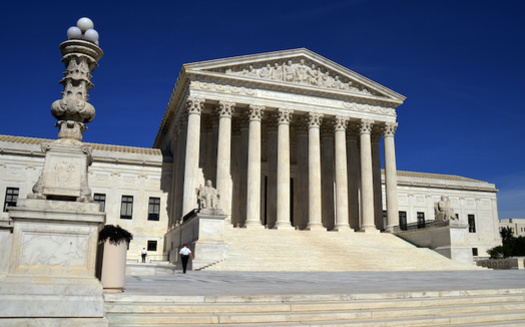 Reproductive-rights advocates fear the addition of a sixth conservative justice to the U.S. Supreme Court puts abortion rights in jeopardy. (winterbilder/Adobe Stock)
