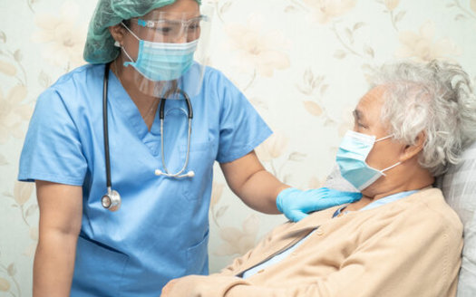 A new AARP report shows South Dakota long-term-care facilities are seeing alarming COVID-19 case numbers among residents and staff. The most recent four-week average for patient deaths was highest in the nation. (Adobe Stock)