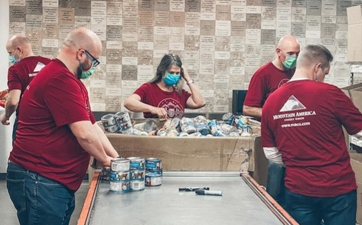 Mountain America Credit Union has donated more than 26,000 meals to the Idaho Foodbank this year. (Mountain America Credit Union)