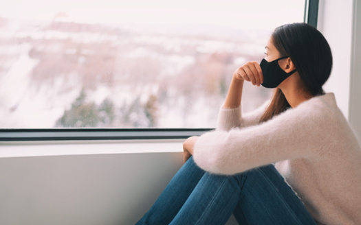 Mental health professionals say not only are many people feeling stress from the pandemic and the holidays, some are isolated from their loved ones out of fear of spreading COVID-19. (Adobe Stock)