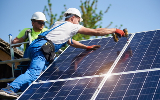 West Virginia could gain more than 1,100 jobs if the state shifts from coal power to renewable energy by 2035, according to a new report. (Adobe stock)