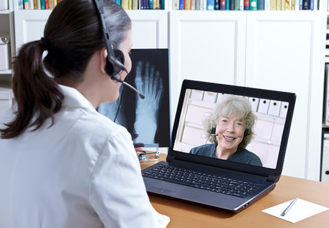 Telehealth is booming as the pandemic prompts more patients to skip the waiting room. (Adobe Stock)