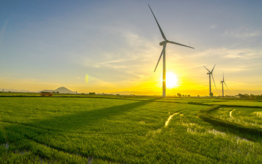 According to an annual industry report, South Dakota had the fifth-highest output in the nation last year of electricity generated by wind turbines. (Adobe Stock)