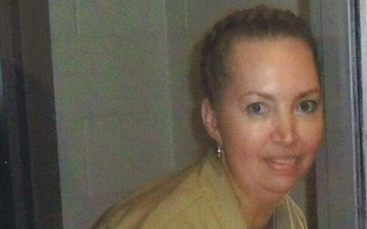 Lisa Montgomery at the Federal Medical Center, Carswell prison in 2017. (Photo courtesy: attorneys for Lisa Montgomery)