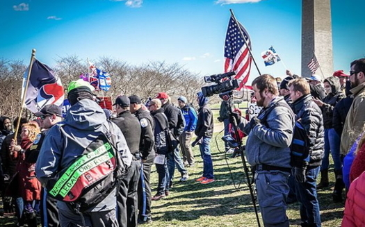 Officials are expecting violence today when pro-Trump protesters rally at the U.S. Capitol as Congress meets to certify the 2020 election results. (Wikimedia Commons)