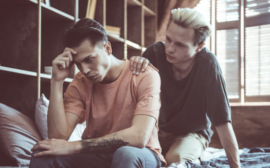 In 29 states, LGBTQ people can still be evicted, denied health care or turned away from businesses because of their sexual orientation. (Yakobchuk Olena/Adobe Stock)