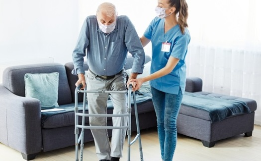 AARP statistics show residents of long-term care facilities are the most vulnerable to serious illness and death from the coronavirus. (picsfive/Adobe Stock)