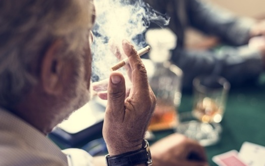 Iowa is one of nearly a dozen states that exempts casinos from smoking bans. (Adobe Stock)