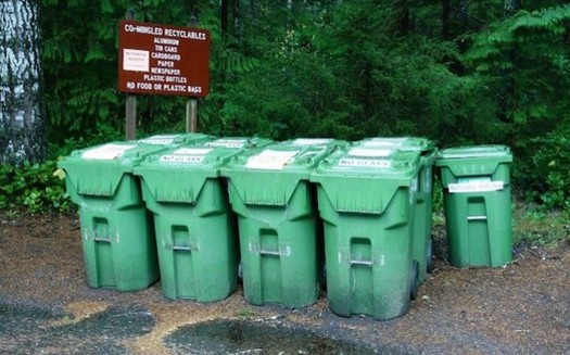 When China stopped taking certain recycled imports from Oregon, the state decided to rethink its recycling system. (Rick Obst/Flickr)