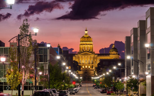 Just like other state legislatures, Iowa's General Assembly has seen routine debate on bills LGTBQ advocates say unfairly target their community, while conservative lawmakers push religious and personal-freedom proposals. (Adobe Stock)