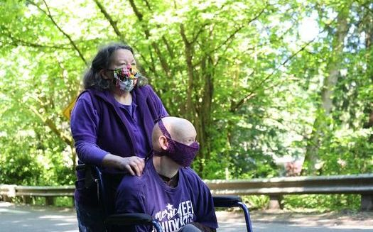 Caregivers are concerned cuts could affect them as Washington state deals with its budget shortfall from COVID-19. (Rolando Avila/SEIU 775)