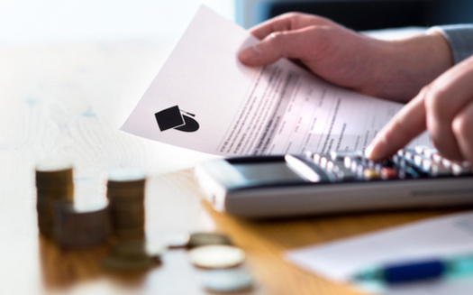More than three quarters of college graduates in New Hampshire have student loan debt, nearly 25% more than the national average. (terovesalainen/Adobe Stock)
