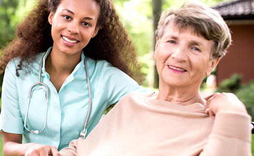 AARP's most recent survey found that 90% of adults age 65 and older want to stay in their<br />homes and communities as they age. (A Place for Mom)