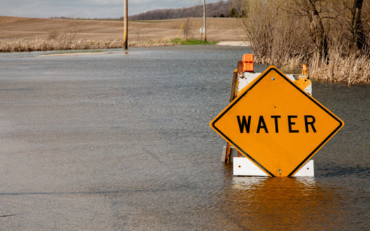 Farmer advocates say as more extreme weather events flood out rural roads, producers face more obstacles in planting or harvesting their crops. (Adobe Stock)