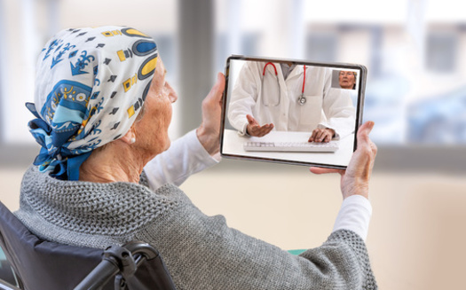 Advocates for telehealth say it reduces barriers to access, from transportation and lost income to missed work and school or the stigma of seeking help. (JPC-PROD/Adobe Stock)