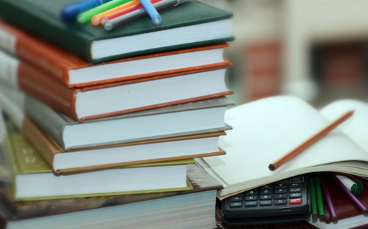 The average full-time, on-campus undergraduate at a four-year school is estimated to have spent $1,240 on books and supplies during the 2019-2020 academic year, according to survey data from the College Board.(Adobe Stock)<br />