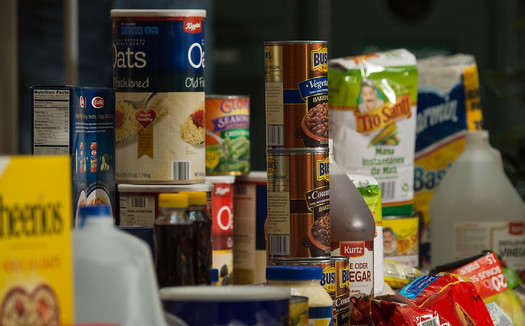 Food banks in Indiana distributed enough food to provide 125 million meals in 2020. (USDA/Flickr)