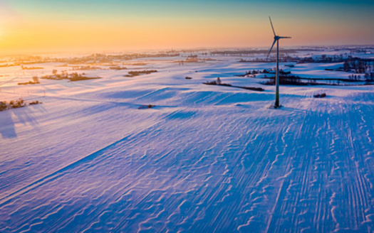 More than 40% of Iowa's power comes from wind energy. (shaiith/Adobe Stock)