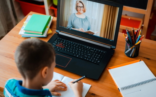 Some Virginia grandparents raising grandchildren have had difficulties helping them navigate computers for online learning during the pandemic. (Adobe Stock)<br /><br />